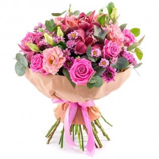 Букеты с розами